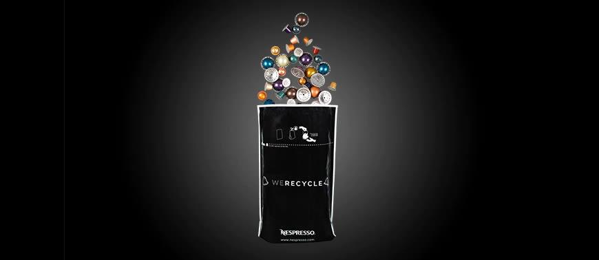nespresso coffee pod recycling